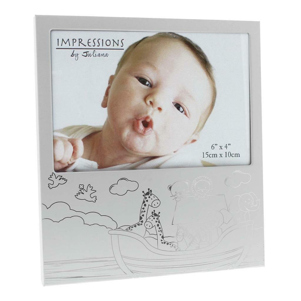 Noah's Ark Collection - Baby Photo Frame 6 x 4 New Boxed CG1158
