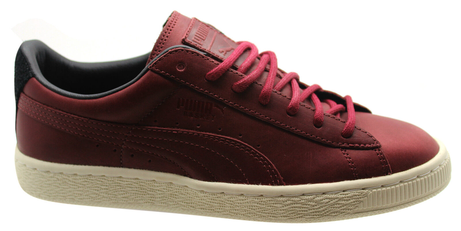 Puma Trainers Basket Citi Series Mens Trainers Puma Unisex Shoes Red Leather 358891 02 D80 f5b6b4