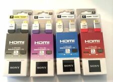 ORIGINAL SONY 3D HIGH SPEED HDMI CABLE 2m METER WITH ETHERNET - DLC-HE20HF