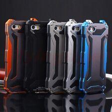 Waterproof Shockproof Aluminum Gorilla Glass Metal Case Cover For iPhone&Samsung