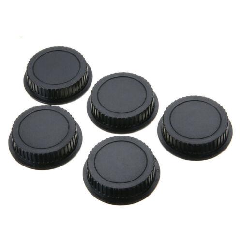 5pcs Camera Rear Lens Cap Cover Protector For Canon EF ES-S//EOS Series Lens Kit