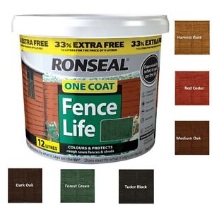 Image result for ronseal one coat fencelife