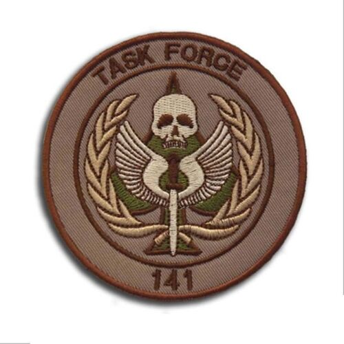 CALL OF DUTY TASK FORCE 141 Military Tactical Morale Army Hook Loop Patch Badge