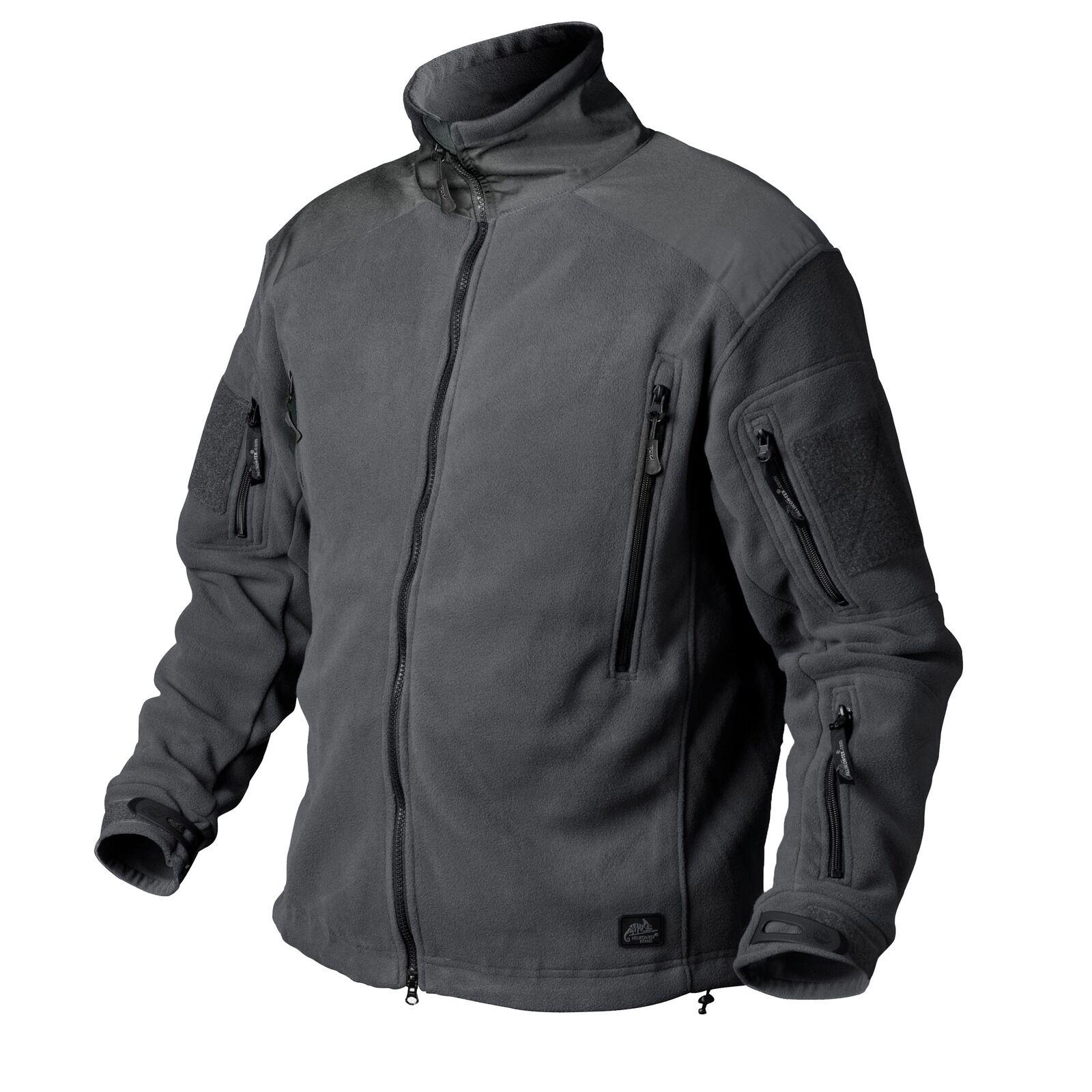 HELIKON-Tex Liberty chaqueta vellón chaqueta outdoor Hiking-Heavy Fleece-Shadow gris