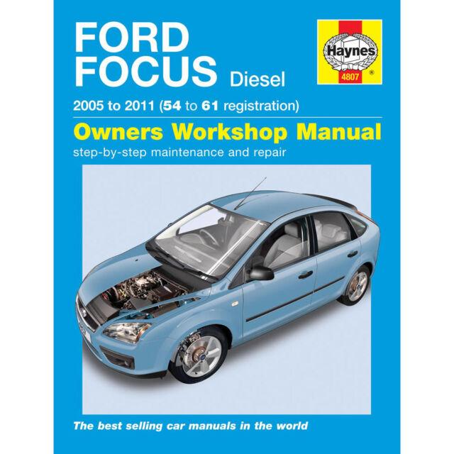Ford Focus Haynes Manual 2005-09  1.6 1.8 2.0 Diesel Workshop Manual