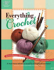 WHOLESALE LOT: Everything Crochet - REFERENCE BOOK ~ CS OF 18 ~Retail  $359.10