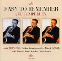 Joe Temperley - Easy To Remember [new Cd] on Sale