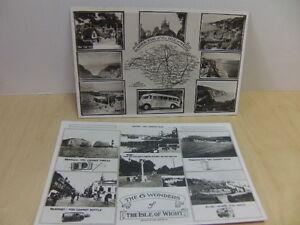 Isle-of-Wight-2-x-unused-Postcards-c-1950s