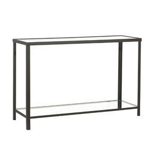 wmg konsolentisch beistelltisch tisch eisen glas valentin. Black Bedroom Furniture Sets. Home Design Ideas