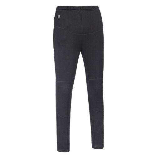 Intelligent USB riscaldata Pantaloni Inverno All/'aperto Caldo Morbido Termico Pantaloni Di Riscaldamento