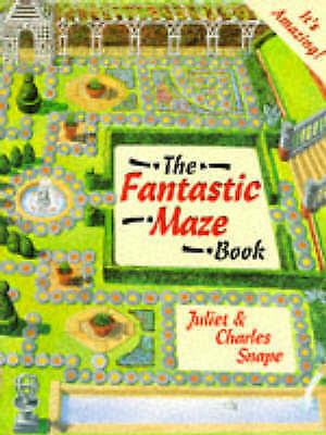 (Good)-The Fantastic Maze Book (Paperback)-Snape, Charles, Snape, Juliet-1856810