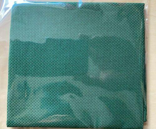 18 cuenta Aida 40cm X 35cm Verde Navidad