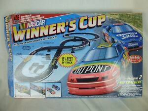 Image Is Loading Electric Slot Car Race Track Amp Turbo Challenge