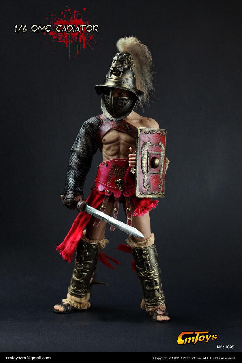 CMSpielzeugS 1 6 H005 Ancient Rome Gladiator Soldier Wirkung Figure Spielzeug Sammlungs