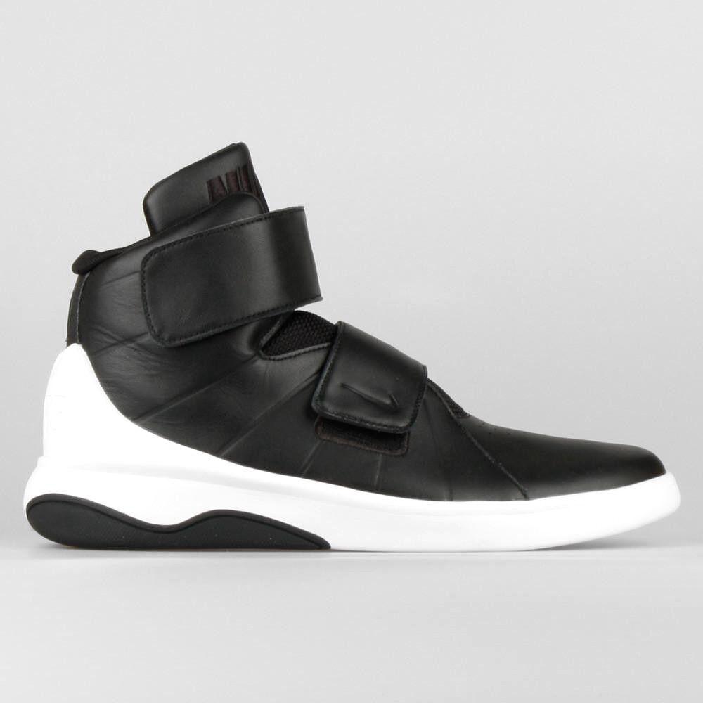 Nike Marxman PRM Black White 832764 001 Mens Strap Sneaker shoes