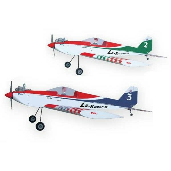 The World Models, LA Racer 40 (Green) RC Airplane