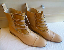 Mr Hare full leather ankle boot UK 11 46 brown Tuscan laced chukka Box bags 12