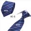 Classic-Red-Black-Blue-Mens-Tie-Paisley-Stripe-Silk-Necktie-Set-Wedding-Jacquard thumbnail 15