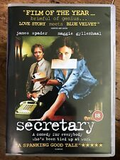 Maggie Gyllenhaal James Spader SECRETARY | 2002 Cult Erotic S & M Drama UK DVD