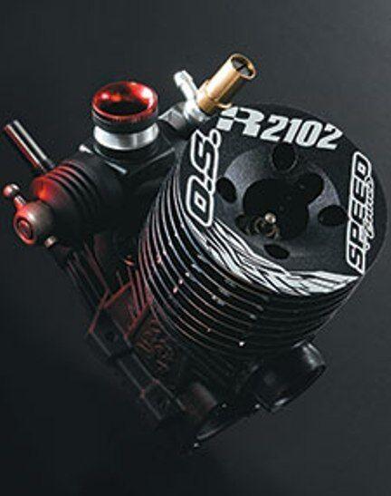 O.S. SPEED R2102 W/21M2(B), 1A100