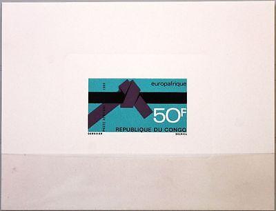 Freundlich Kongo Brazzaville 1969 181 C84 Deluxe Europafrique Wirtschaft Economy Mnh Produkte HeißEr Verkauf