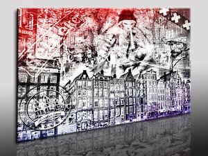 Amsterdam-Abstracto-Fotoleinwand24-Impresion-artistica-Mural-Foto-en-lienzo-N674