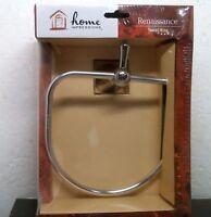 Home Impressions Renaissance Towel Ring Polished Chrome Finish 435185
