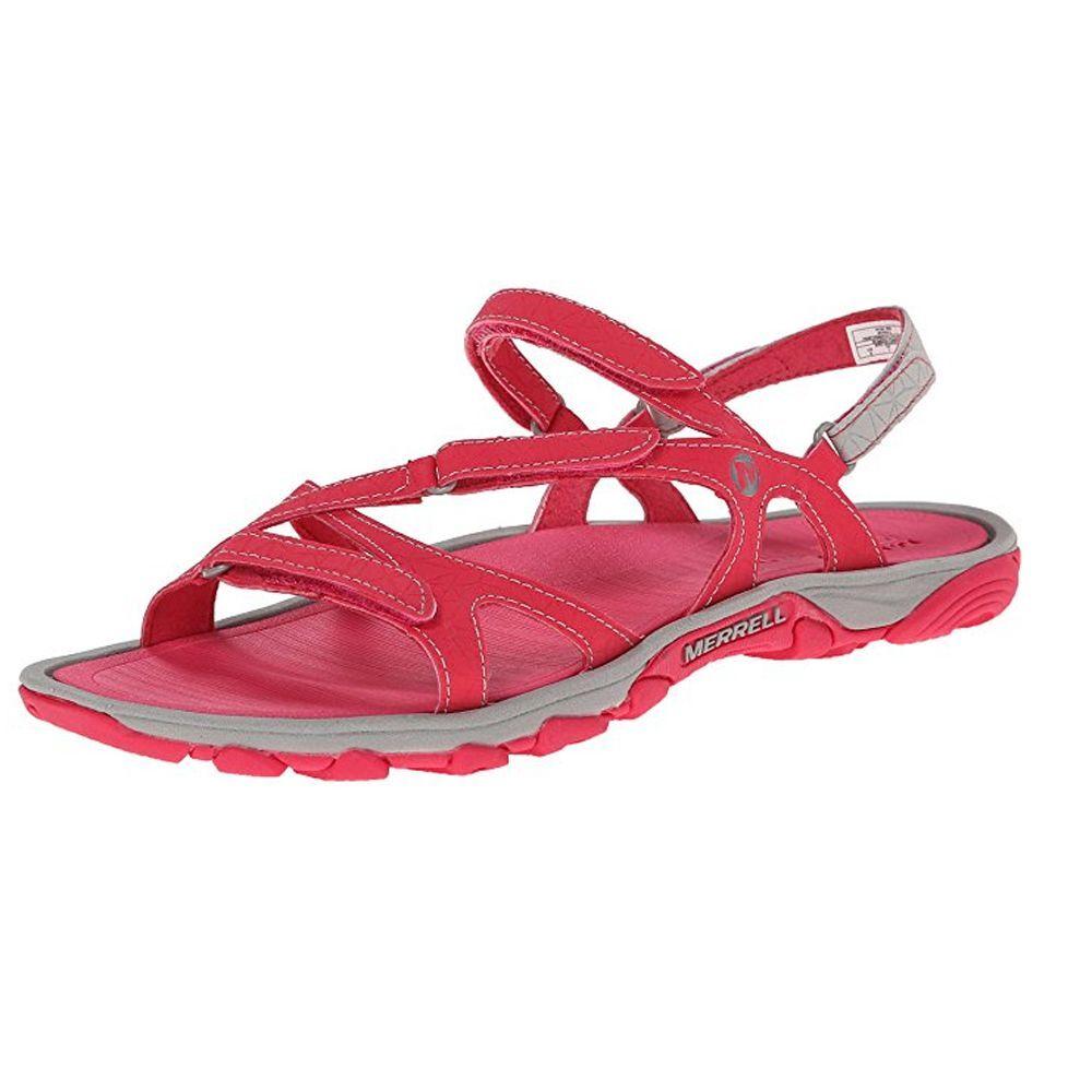 Merrell Enoki Women's Enoki Merrell Convertible Red Flip Flop 0b707d