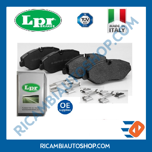 KIT PASTIGLIE FRENO POSTERIORE LPR ALFA ROMEO 147 156 SPORTW. GT