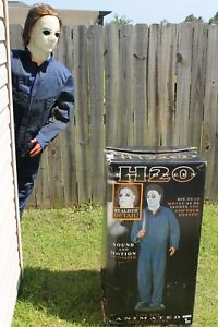 image is loading gemmy lifesize animated h2o michael myers halloween animatronic