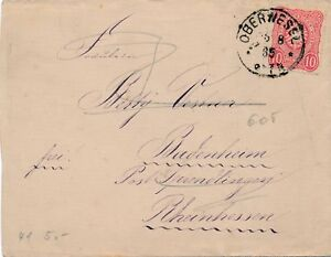 Lettre-OBERNESEL-Germany-Cover-Brief