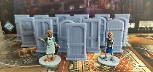 XL-Puertas-Mansiones-de-la-Locura-16Unid-Mansions-of-Madness-doors-16-tokens