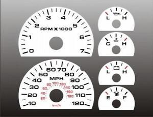 2004-2008-Ford-F150-Dash-Instrument-Cluster-White-Face-Gauges-F-150-04-08