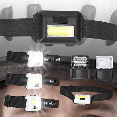 LED Stirnlampen Kopflampen leicht Joggen Fahrrad Laufen Sport Kopf Stirn Lampe