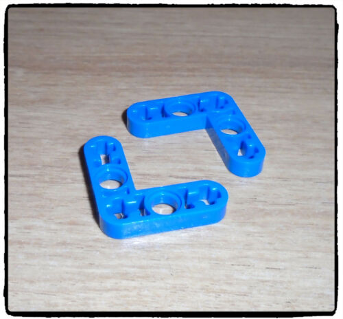 Liftarm Bent 90 LEGO Technic 32056 Beam 3 x 3 x 0.5 ~SELECT COLOUR~ 2 incl.