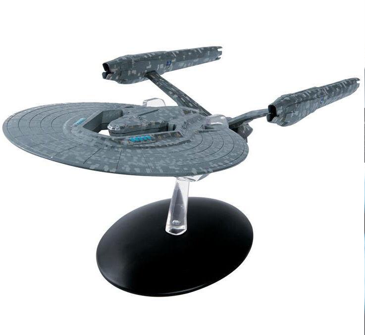 USS Vengeance STAR TREK 2013-Modello in Metallo Diecast EAGLEMOSS Nuovo