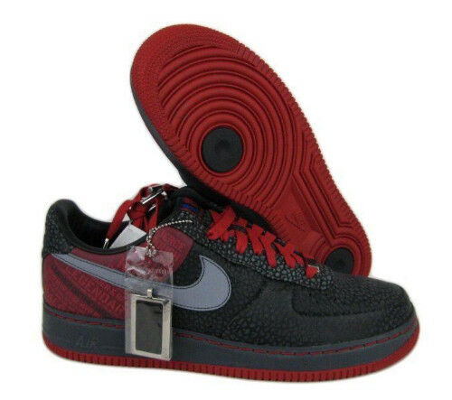NIKE AIR FORCE 1 SUPREME Moses Malone Originak Six SZ 11.5 315089-001 AF1 76ers