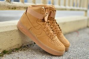 nike air force one mid flax ebay motors