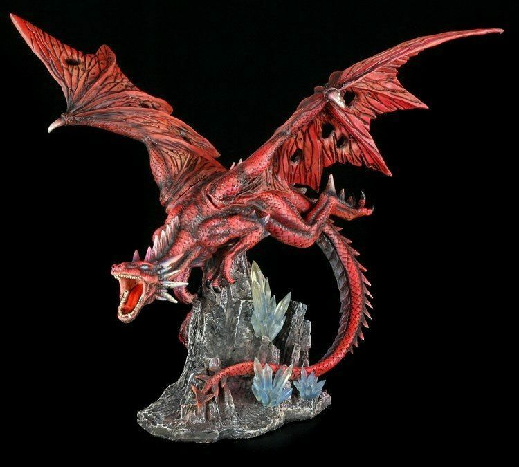 Grande Rojo Dragones Figura - FURIA