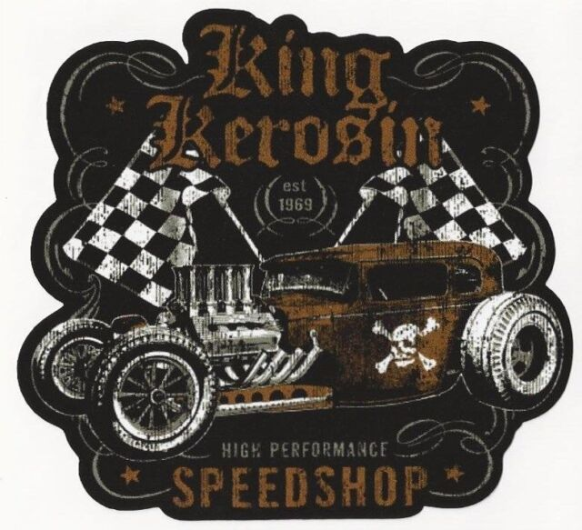 NEU !!! < Speedshop > AUFKLEBER / STICKER  USW. - KING KEROSIN