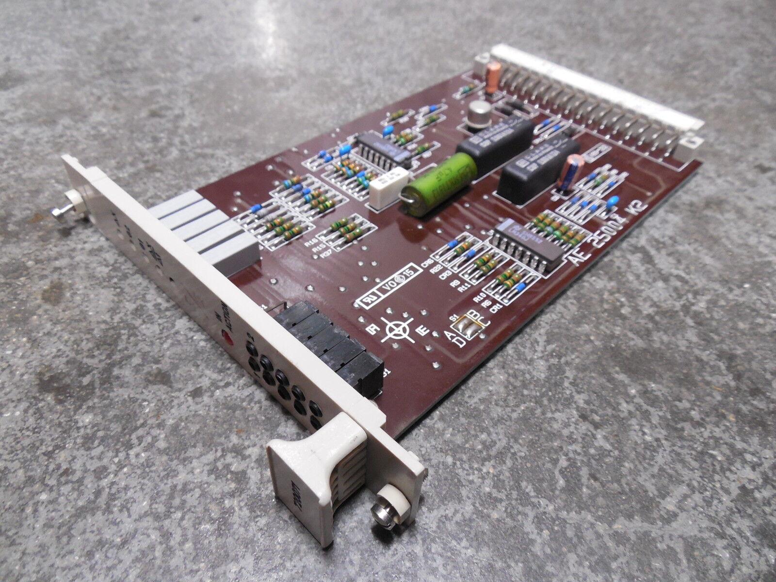 USED ABB Stal 720071 Turbine Controller Step   Gradient Limiter Card AE 25004 K2