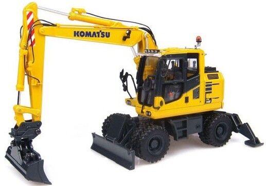 UH8083 - Pelleteuse à pneus KOMATSU PW148 avec 2 outils - 1 50