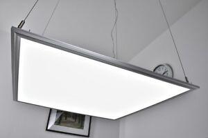Plafoniere Per Garage A Led : Lampe suspension à led 60x60 plafonnier lustre pendante