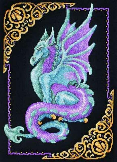 Mythical Dragon Cross Stitch Kit from Janlynn