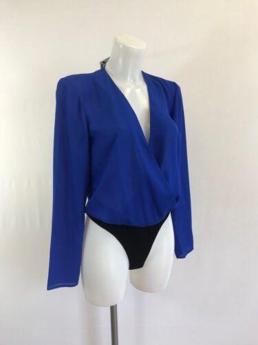 Ladies new ex chainstore bodysuit size  8 10 12 14