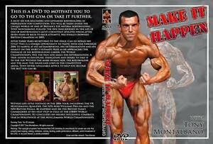 Natural bodybuilding dvd  Make it happen with Tony Montalbano Competition Diet - Aylesbury, United Kingdom - Natural bodybuilding dvd  Make it happen with Tony Montalbano Competition Diet - Aylesbury, United Kingdom