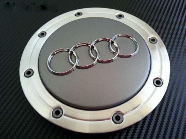 148mm Audi Grau Nabendeckel Felgendeckel Auto Nabenkappe Nabendeckung 4B0601165A