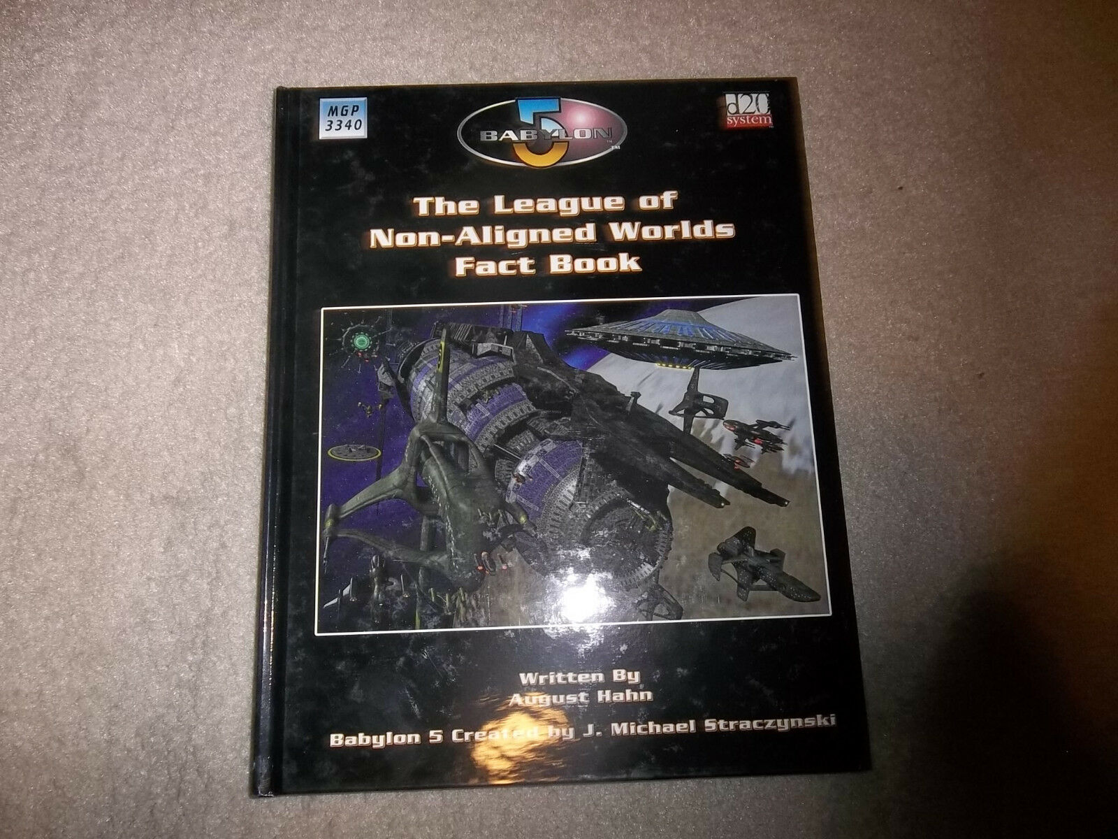Babylon 5 RPG 1st Ed The League of Non-Aligned Worlds Fact Book