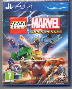 LEGO-Marvel-Super-Heroes-039-New-amp-Sealed-039-PS4-Four