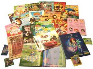gros-lot-2011-IMAGES-VIGNETTES-STICKERS-panini-9-ALBUMS-neufs-vides